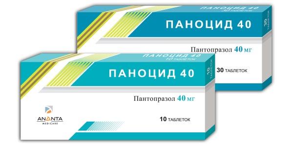 Паноцид 40 (panocid 40) описание препарата: инструкция по.