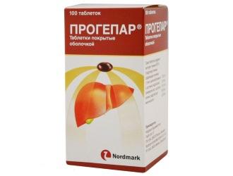 Прогепар (prohepar) описание препарата: инструкция по применению.