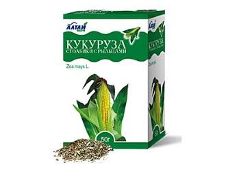Лекарственные травы, кукурузные рульца