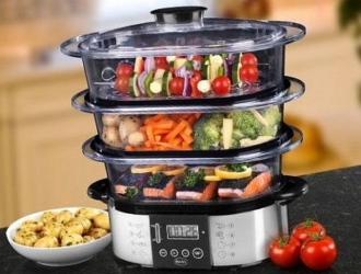 Продукты разрешается запекать, отваривать и готовить на пару.